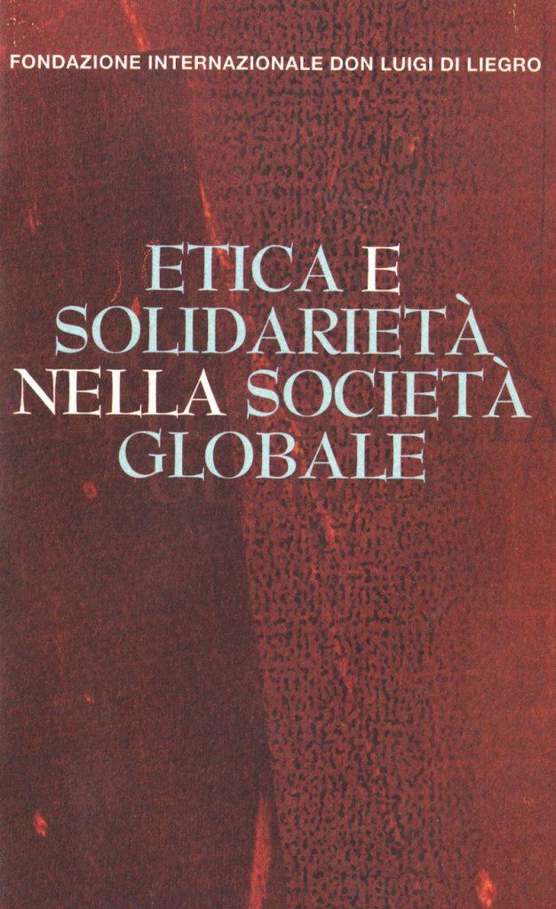 Etica e solidarietà nella soocietà globale