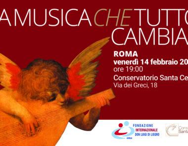 La Musica che tutto cambia. Il 14 febbraio una serata di musica e solidarietà