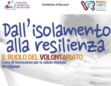 Dall'isolamento alla resilienza. Il ruolo del volontariato