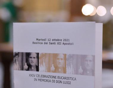 Celebrazione eucaristica in memoria di Don Luigi Di Liegro: 12 ottobre 2021